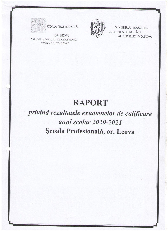 Scoala Profesionala Leova
